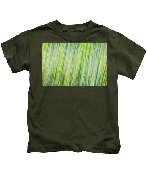 Green Grasses Kids T-Shirt