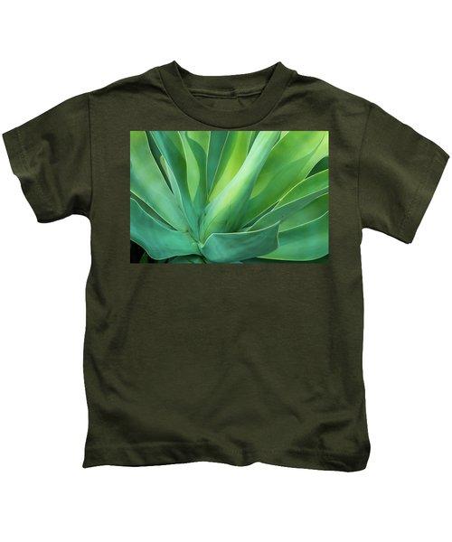 Green Minimalism Kids T-Shirt