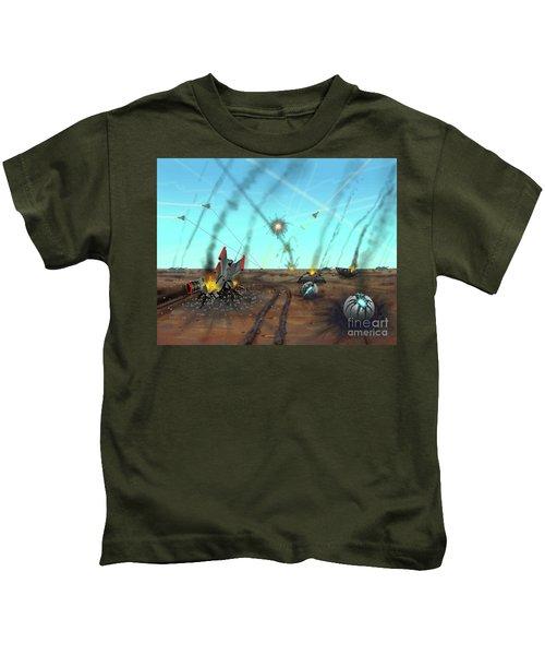 Ground Battle Kids T-Shirt