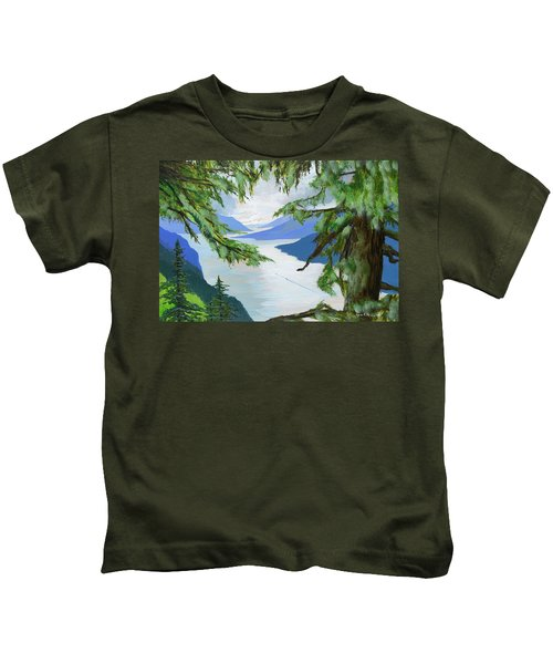 Guided Through The Fjords Kids T-Shirt