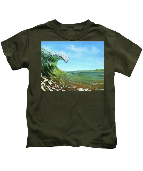 Gulf Of Mexico Surf Kids T-Shirt