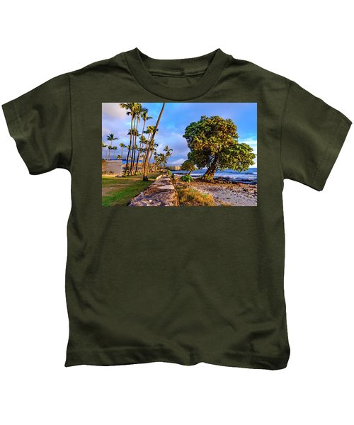 Hale Halawai Park Kids T-Shirt