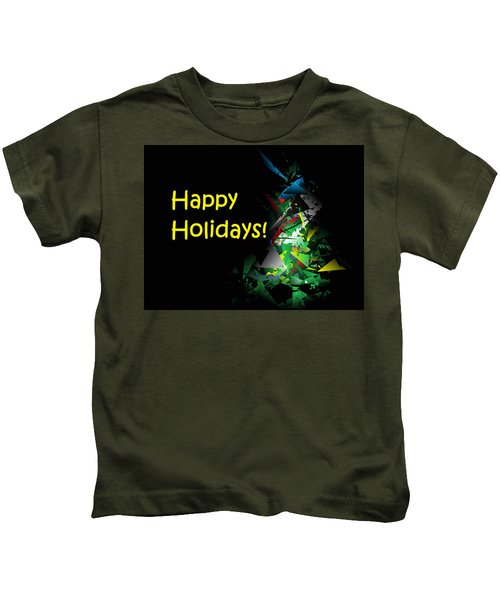 Happy Holidays - 2018-1 Kids T-Shirt