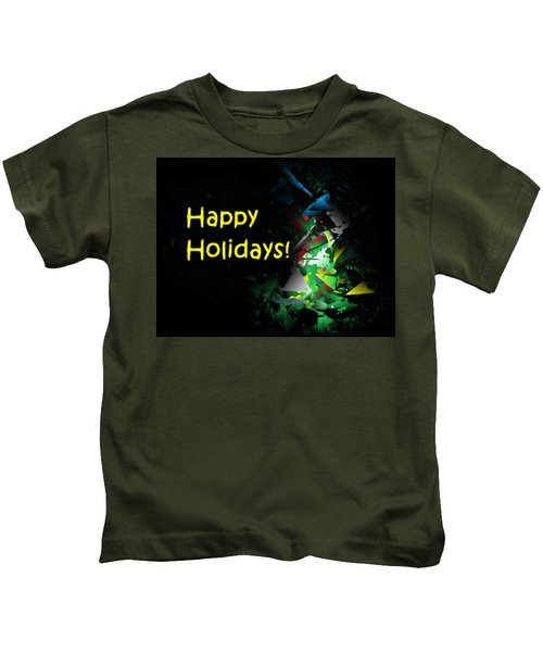 Happy Holidays - 2018-7 Kids T-Shirt