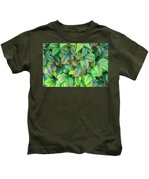 Harmony In The Garden Kids T-Shirt