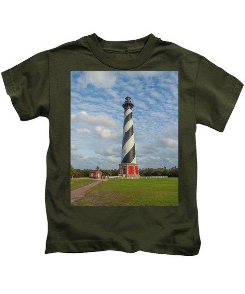 Hatteras Lighthouse Kids T-Shirt