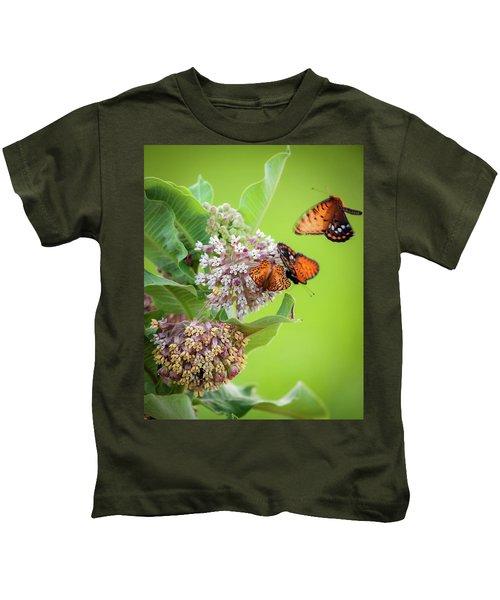 Head Over Heals For Milkweed Kids T-Shirt