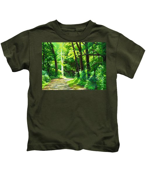 Heaven And Nature Sings Kids T-Shirt