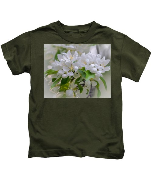 Heavenly Blossoms Kids T-Shirt
