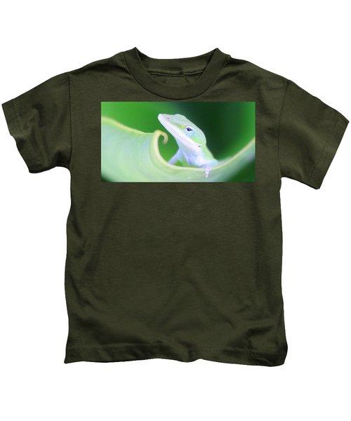 Hello, Anole. 2 Kids T-Shirt