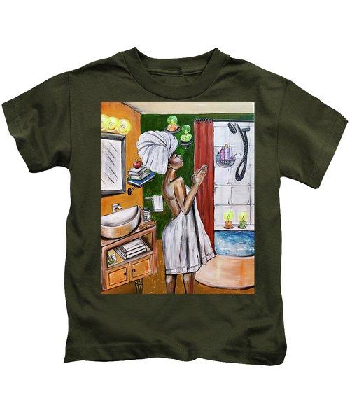 Her Prayer Kids T-Shirt