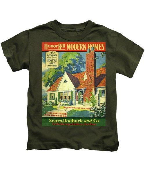 Honor Bilt Modern Homes Sears Roebuck And Co 1930 Kids T-Shirt