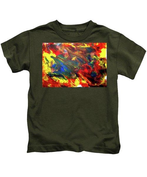 Hot Colors Coolling Kids T-Shirt