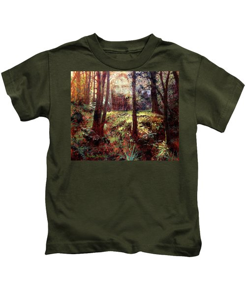 In Him We Live, And Move, And Have Our Being Kids T-Shirt