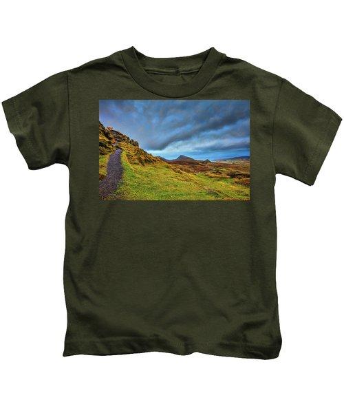 Isle Of Skye Landscape #i1 Kids T-Shirt