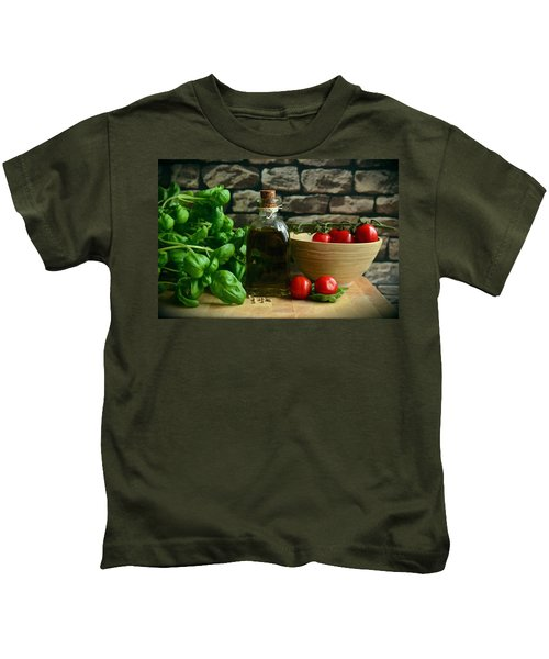 Italian Ingredients Kids T-Shirt