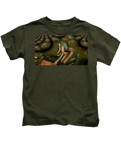 Jade Forest Kids T-Shirt
