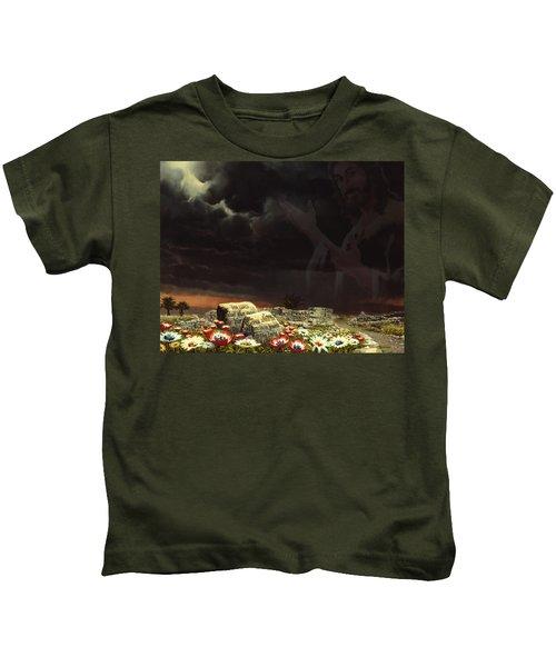 Jesus And His Jewels Kids T-Shirt