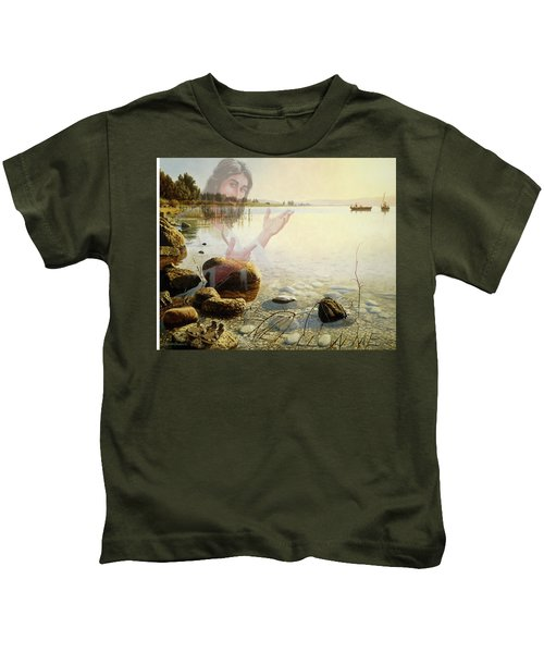 Jesus, Come Follow Me Kids T-Shirt