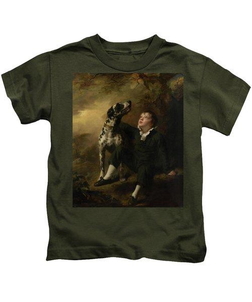 John Stuart Hepburn Forbes, Later 8th Baronet Of Monymusk, And Of Fettercairn And Pitsligo Kids T-Shirt