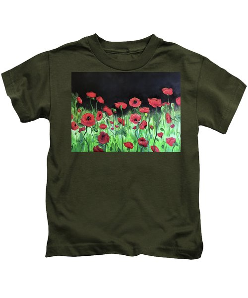 Jon's Poppies Kids T-Shirt