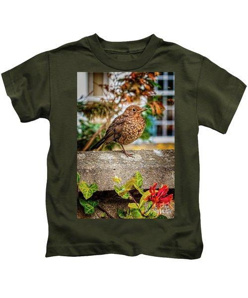 Juvenile Blackbird Kids T-Shirt