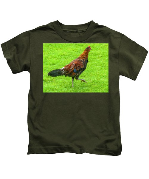 Kauai Rooster Kids T-Shirt