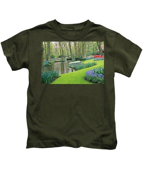 Keukenhof Gardens Kids T-Shirt