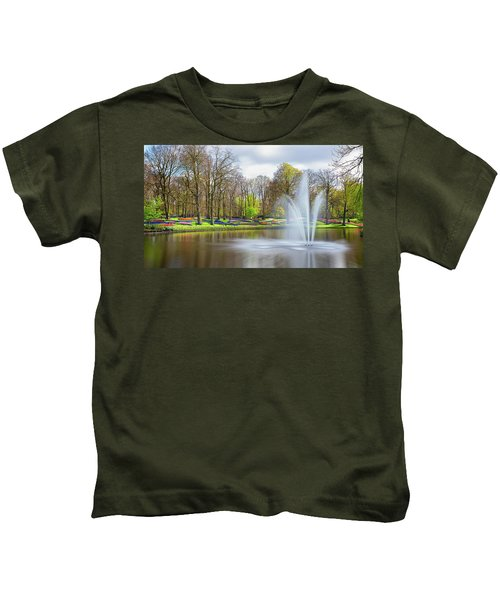 Keukenhof Tulip Garden Holland Kids T-Shirt
