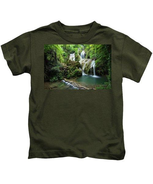 Krushunski Waterfalls Kids T-Shirt