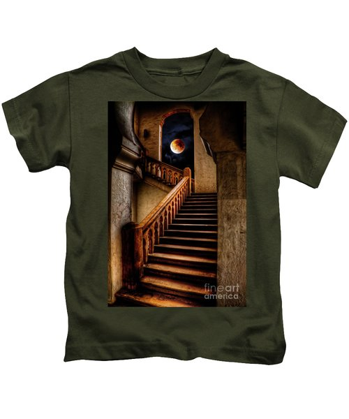 Ktm Stairway Moon Kids T-Shirt