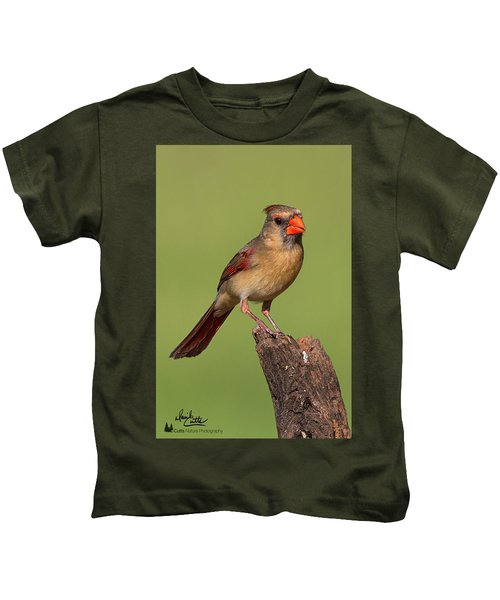Lady Cardinal Kids T-Shirt