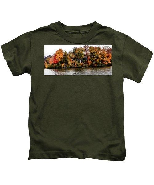 Lake Colors Kids T-Shirt