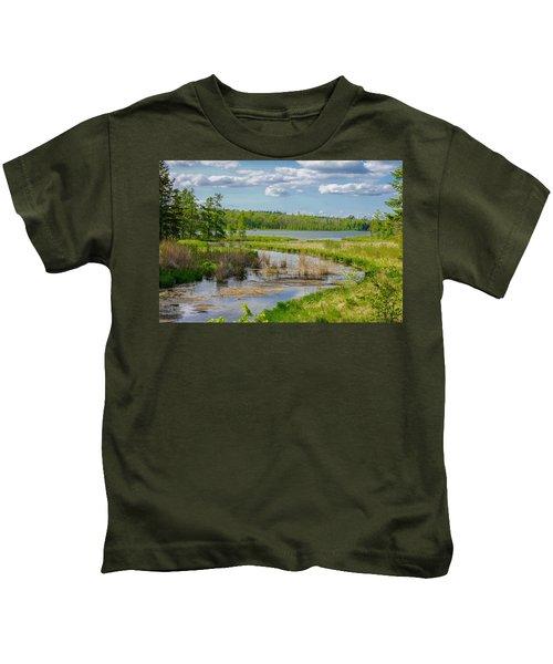 Lake Itasca Beauty Kids T-Shirt