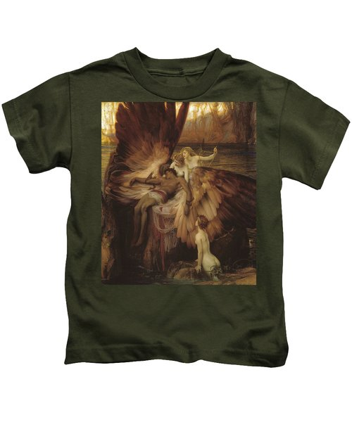Lament Of Icarus Kids T-Shirt