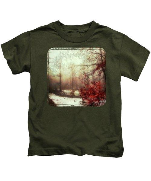 Last Copper- Misty Winter Day Kids T-Shirt