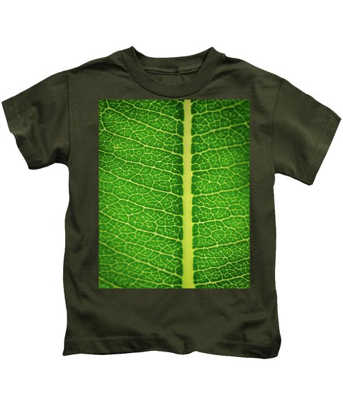 Leafy Detail Kids T-Shirt