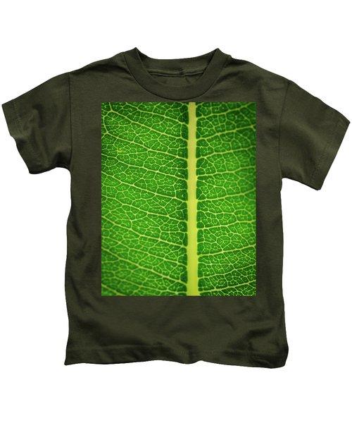 Leafy Detail Kids T-Shirt