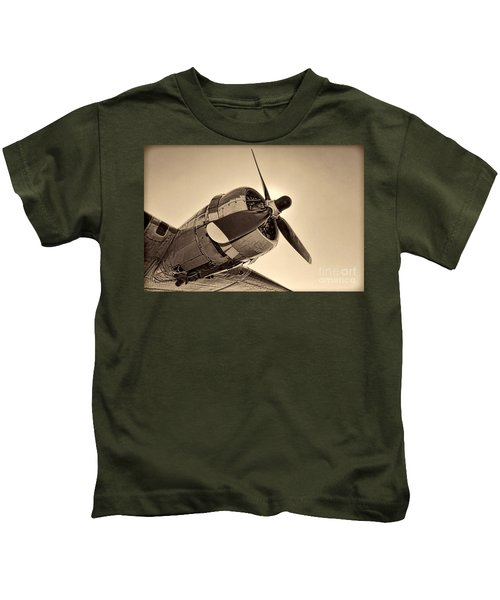 Legendary Flying Fortress  Kids T-Shirt