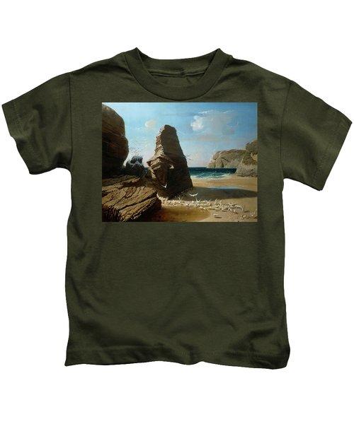 Les Petites Mouettes, Small Seagulls Kids T-Shirt