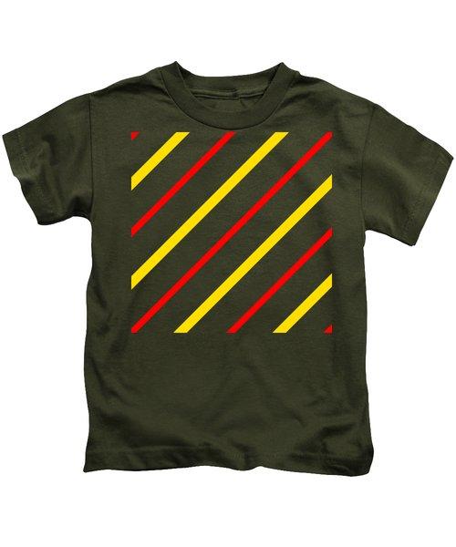 Line Or Stripe Design In A Modern Look - Dde578 Kids T-Shirt