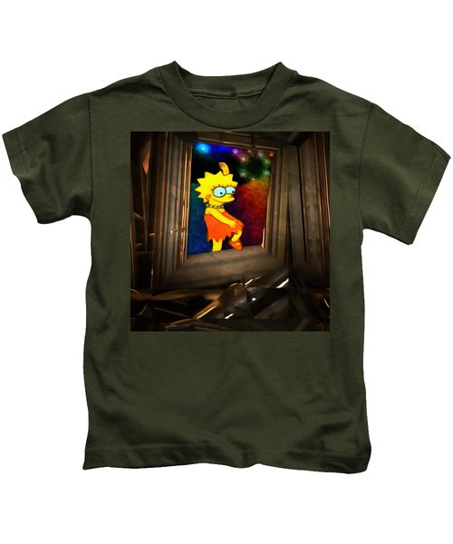 Lisa Steps Out Kids T-Shirt