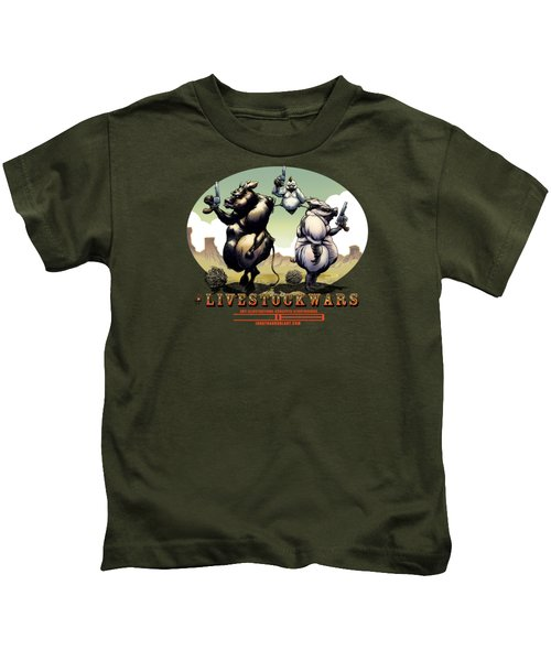#livestockwars Kids T-Shirt