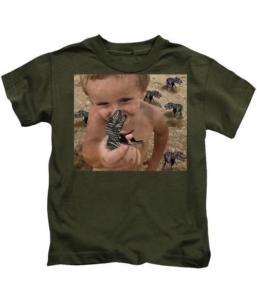 Lots Of These Snappy Critters Round Kids T-Shirt