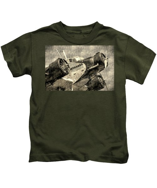 Lufthansa Junkers Ju 52 Vintage Kids T-Shirt