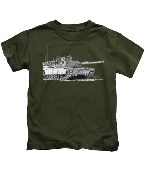 M1a1 D Company 1st Platoon Kids T-Shirt