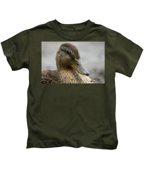 Mallard Hen Kids T-Shirt