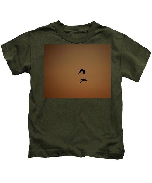 Mallard Morning Kids T-Shirt