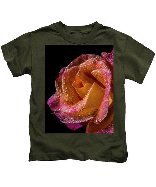 Mardi Gras Sprinkled Beauty Kids T-Shirt