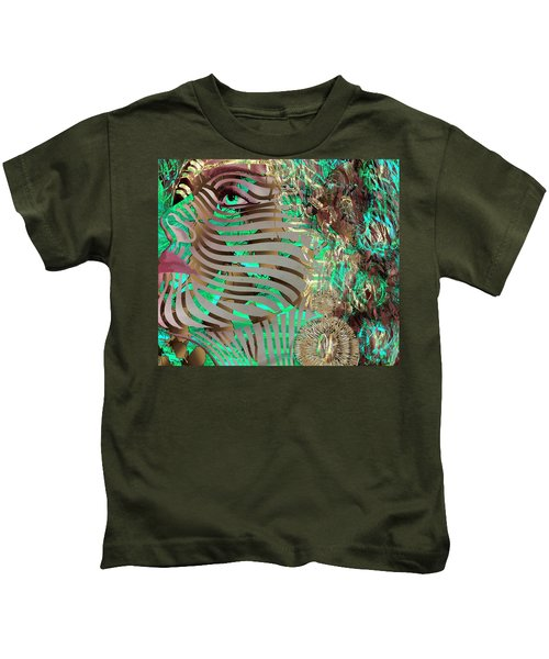 Mask What Hides 3 Kids T-Shirt